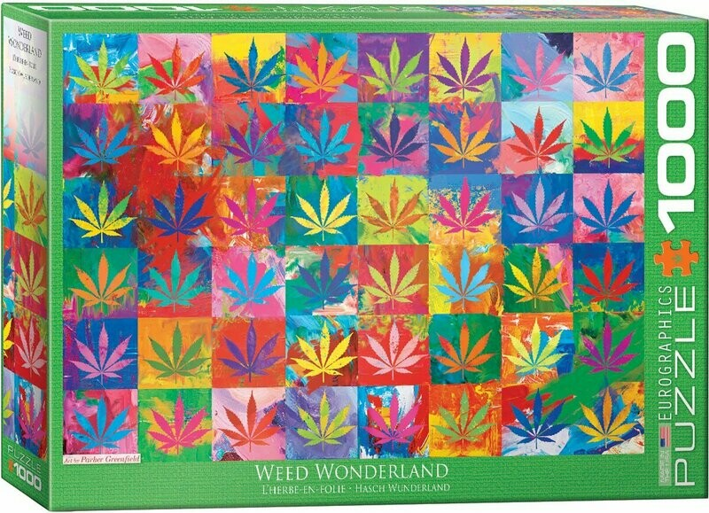 EuroGraphics Weed Wonderland 1000-Piece Puzzle