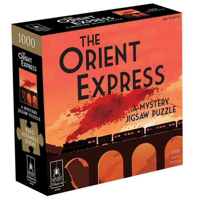 University Games The Orient Express Classic Mystery Jigsaw Puzzle