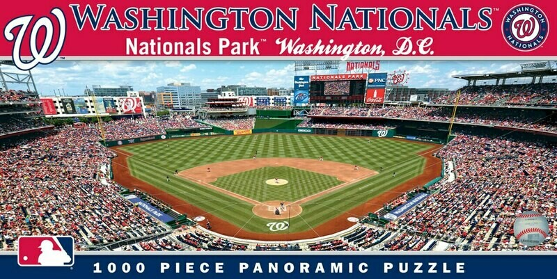 WASHINGTON NATIONALS 1000 PIECE STADIUM PANORAMIC JIGSAW PUZZLE