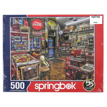 GOOD NABOR STORES 500 PIECE JIGSAW PUZZLE
