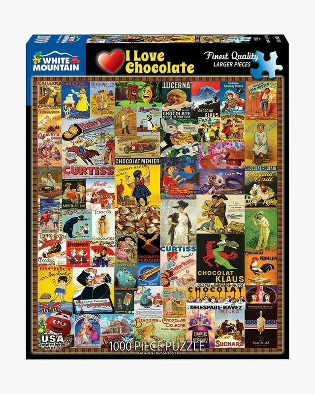I Love Chocolate - 1000 Piece Jigsaw Puzzle