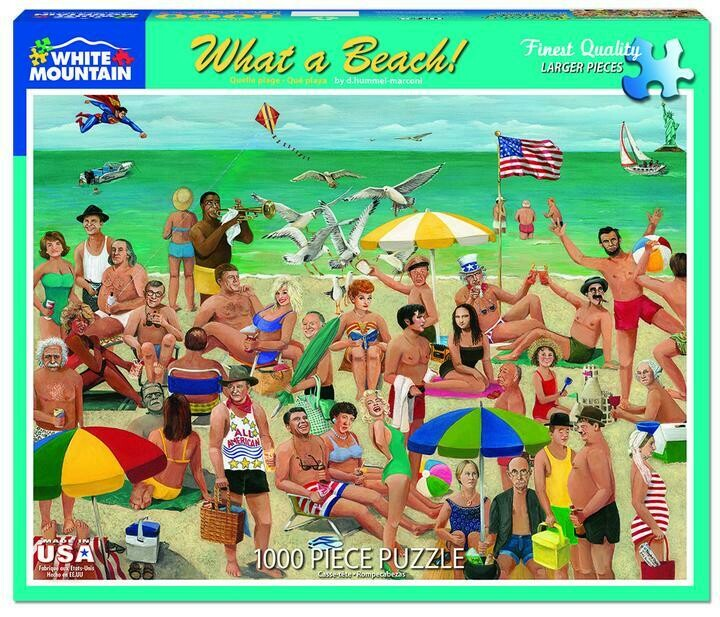 What a Beach!- 1000 Piece Jigsaw Puzzle