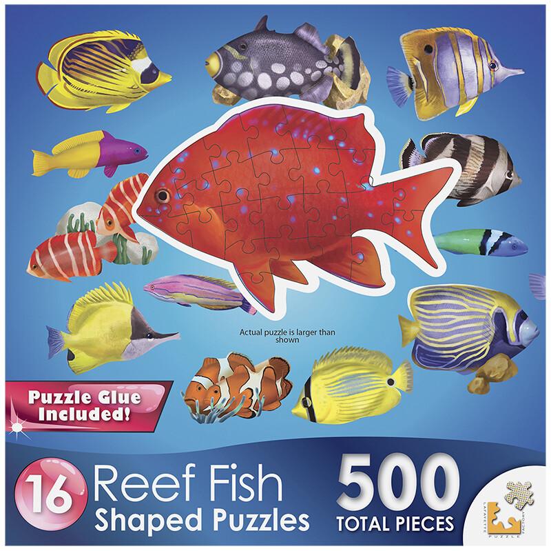 CRA-Z-ART Puzzle - Reef Fish II - 500 piece