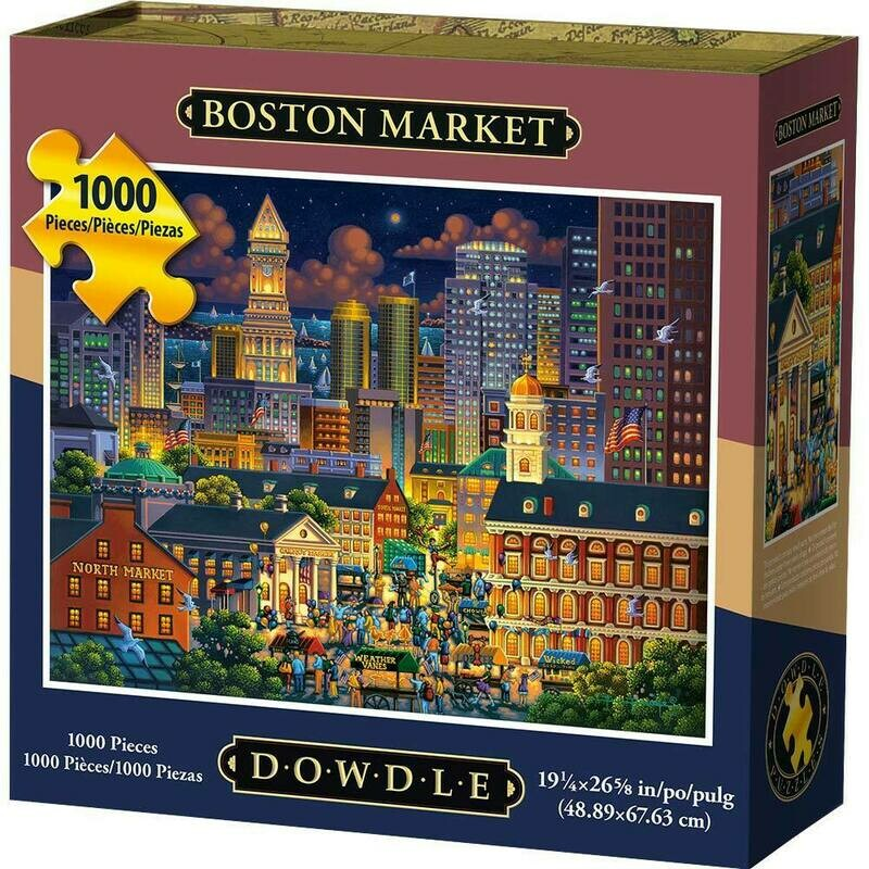 BOSTON MARKET - TRADITIONAL PUZZLE