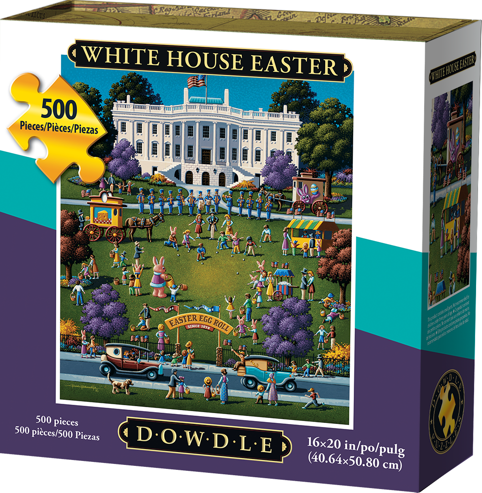 WHITE HOUSE EASTER - TRADITIONAL PUZZLE