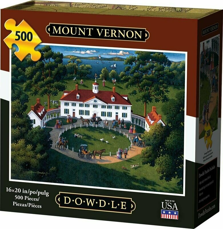 MOUNT VERNON - TRADITIONAL PUZZLE