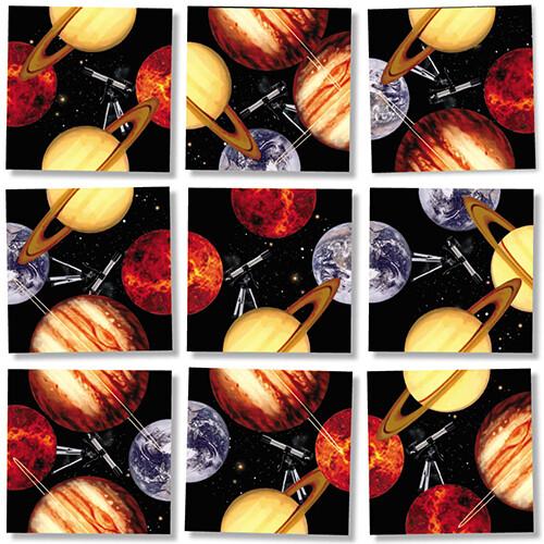 Planets Scramble Squares