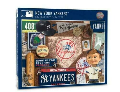 You The Fan New York Yankees Retro Series 500-Piece Puzzle