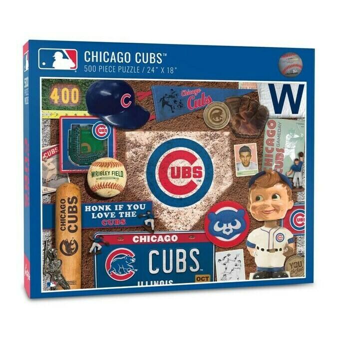 MLB Chicago Cubs Retro Series Puzzle