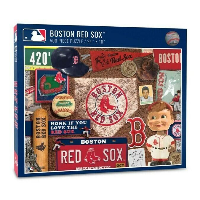 MLB Boston Red Sox Retro Series Puzzle