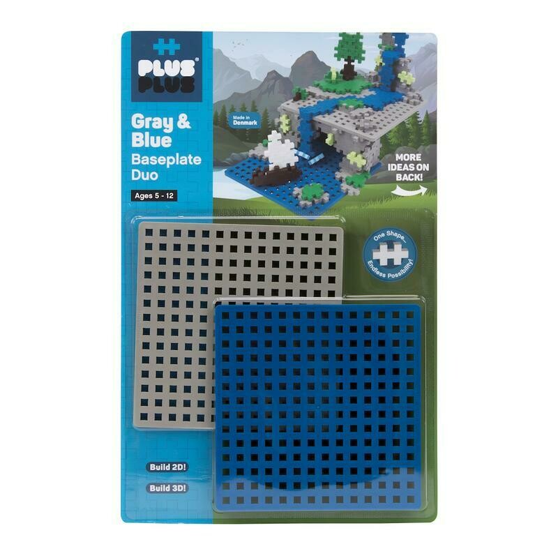 BASEPLATE DUO - GRAY AND BLUE