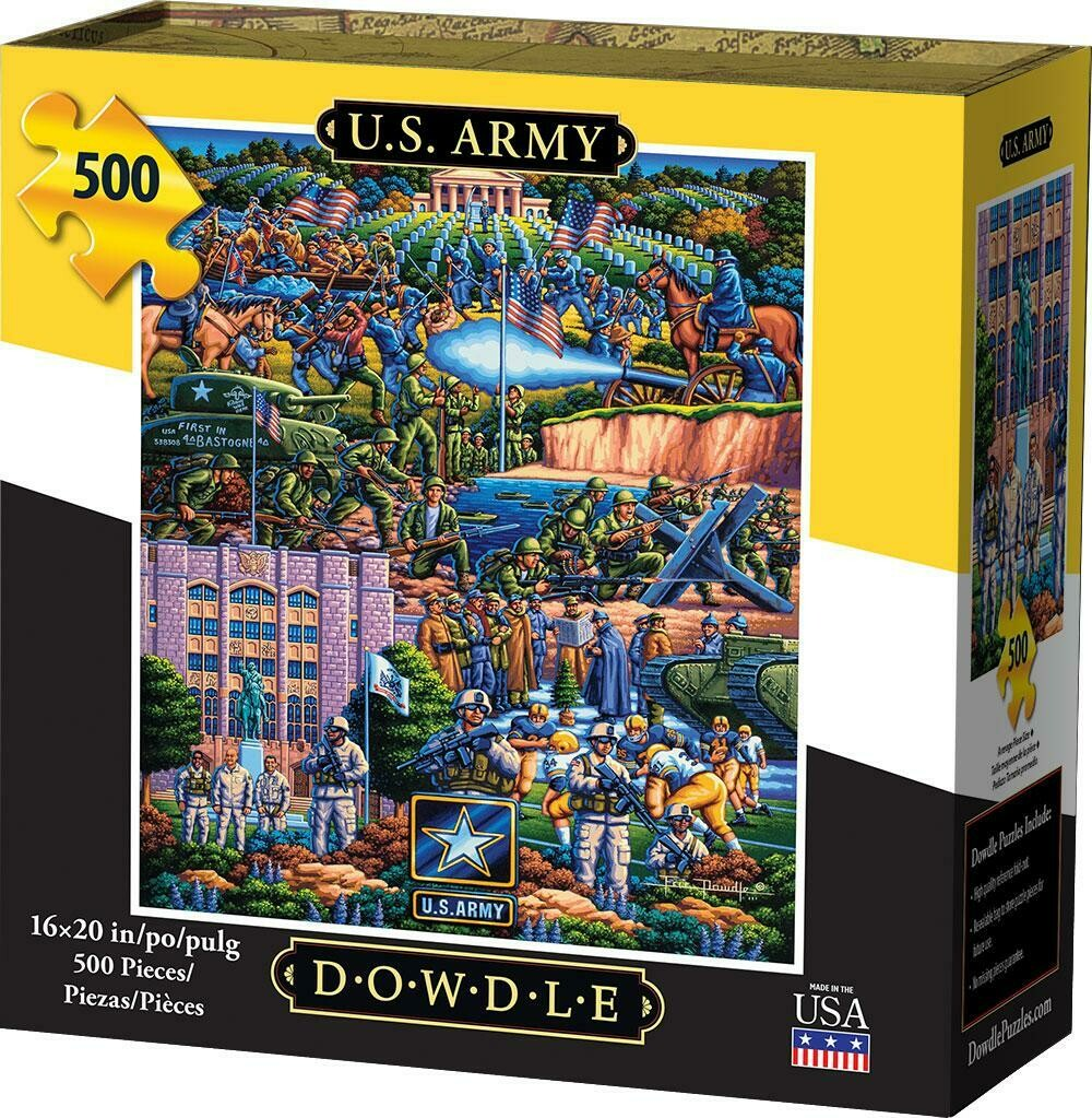 U.S. ARMY - TRADITIONAL PUZZLE