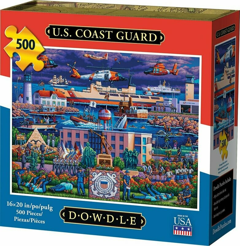 U.S. COAST GUARD - TRADITIONAL PUZZLE