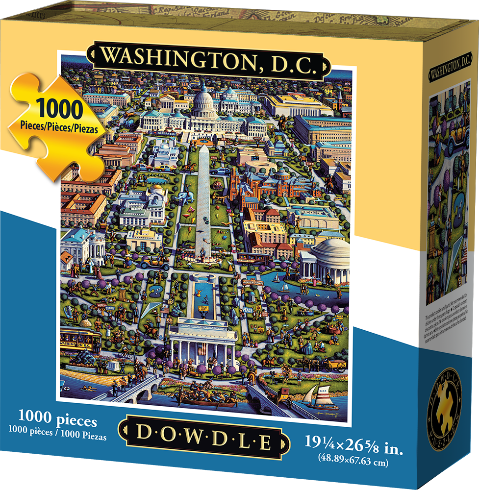 WASHINGTON DC - TRADITIONAL PUZZLE