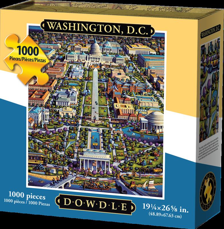 WASHINGTON DC - TRADITIONAL PUZZLE