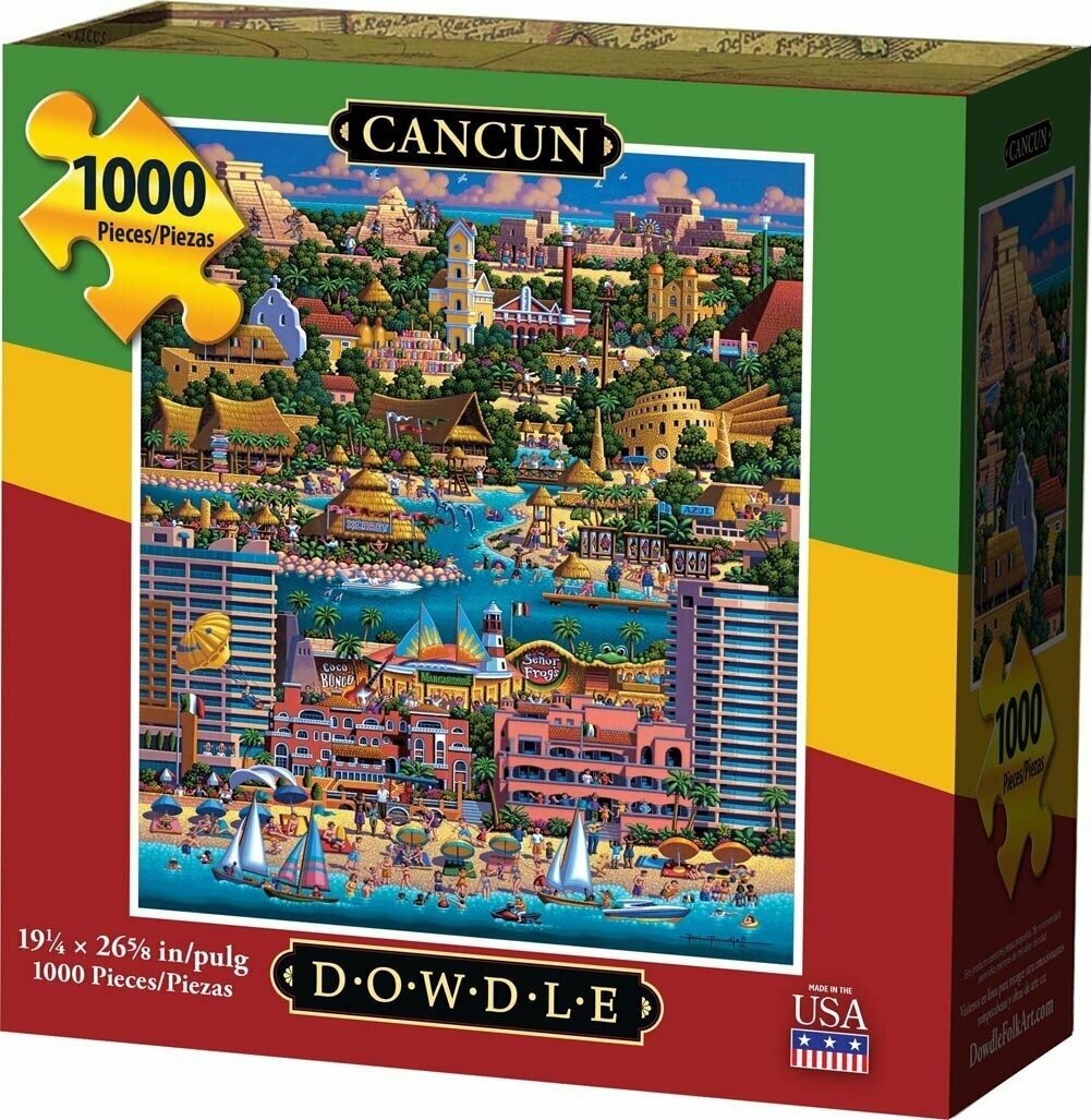 CANCUN - TRADITIONAL PUZZLE