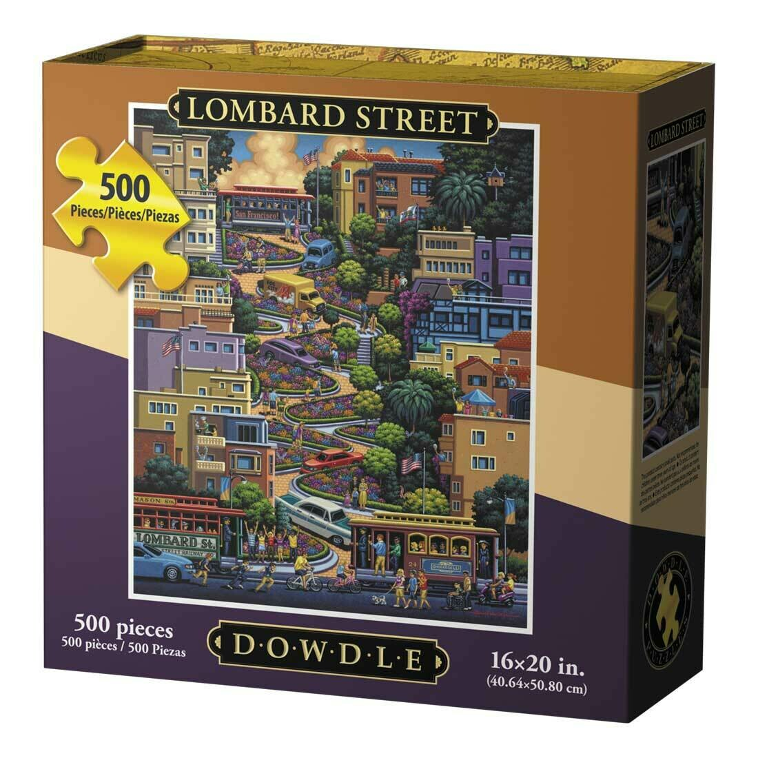 LOMBARD STREET - TRADITIONAL PUZZLE