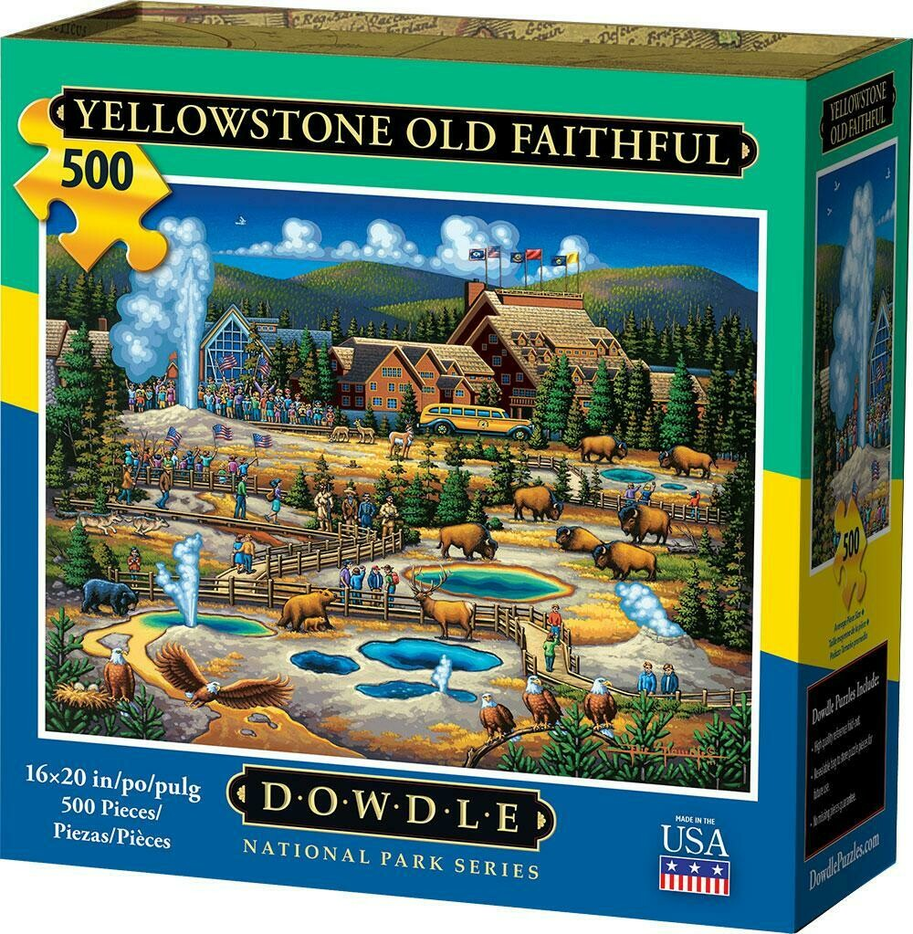 YELLOWSTONE OLD FAITHFUL - TRADITIONAL PUZZLE