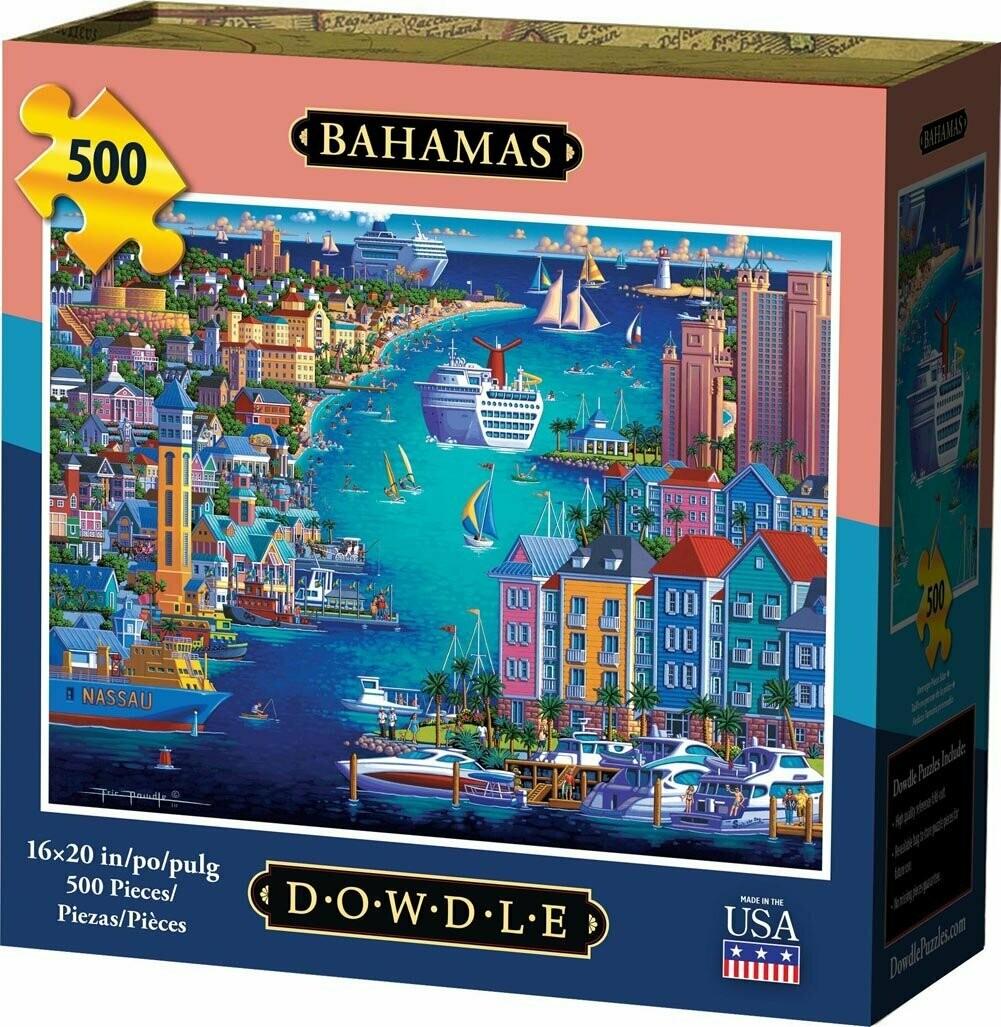 BAHAMAS - TRADITIONAL PUZZLE