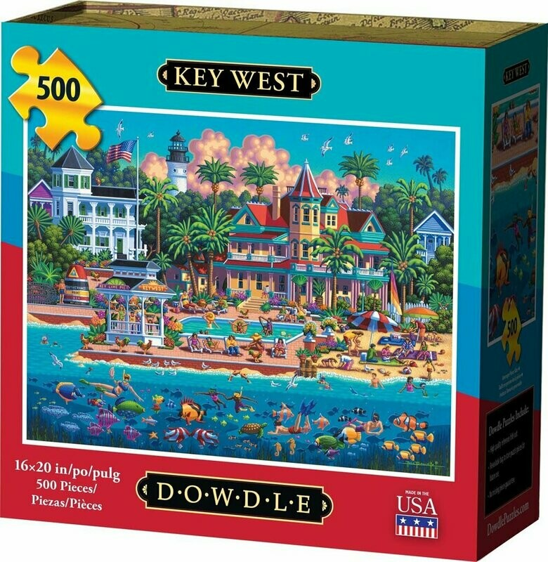 KEY WEST - TRADITIONAL PUZZLE