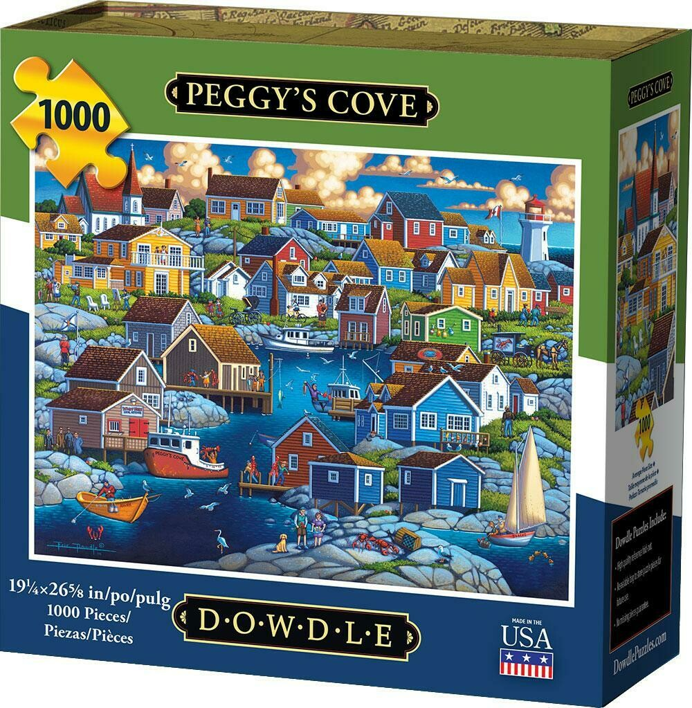 PEGGY'S COVE - TRADITIONAL PUZZLE