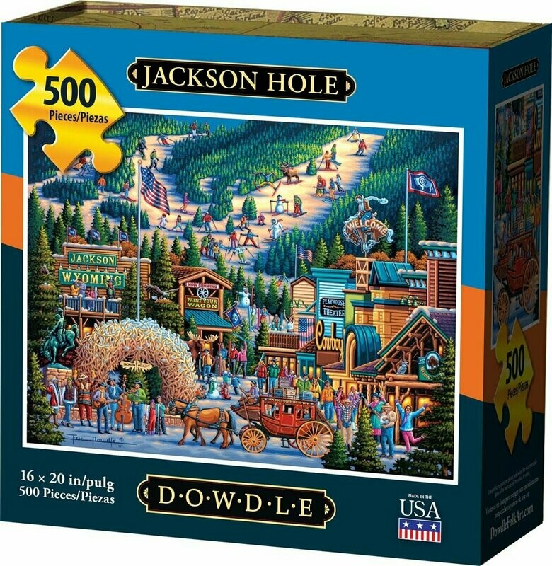 JACKSON HOLE - TRADITIONAL PUZZLE
