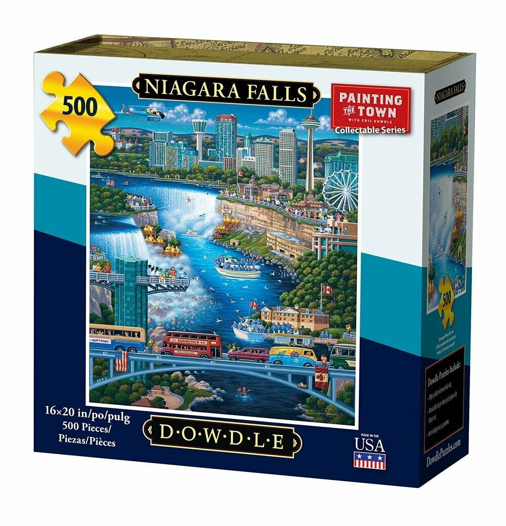 NIAGARA FALLS - TRADITIONAL PUZZLE