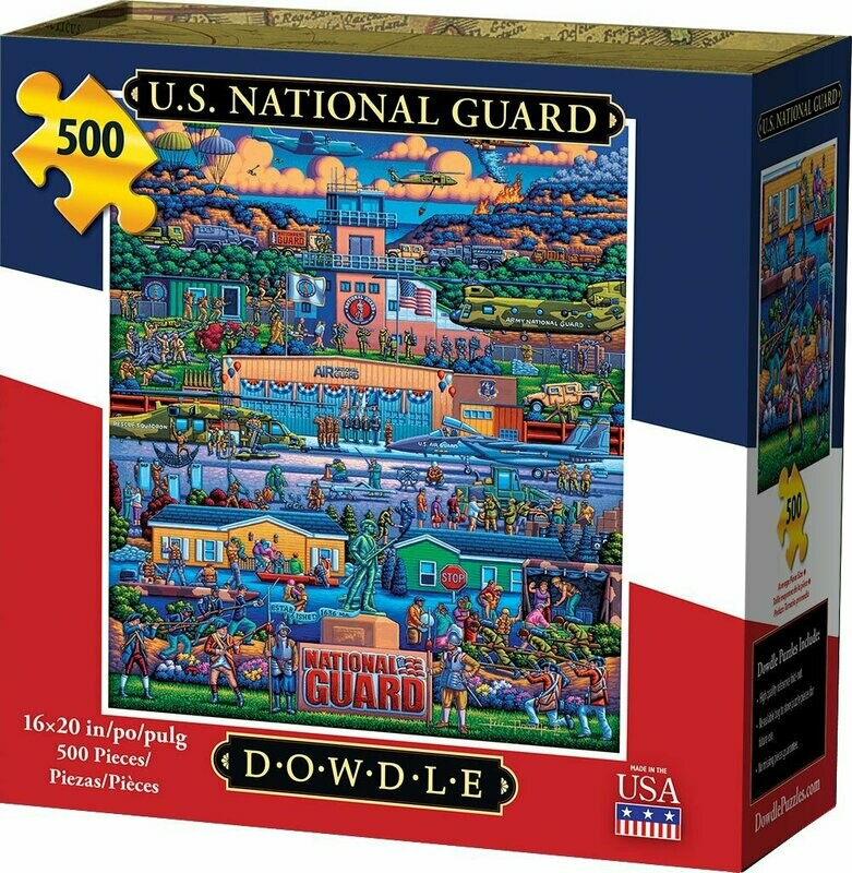 U.S. NATIONAL GUARD - TRADITIONAL PUZZLE