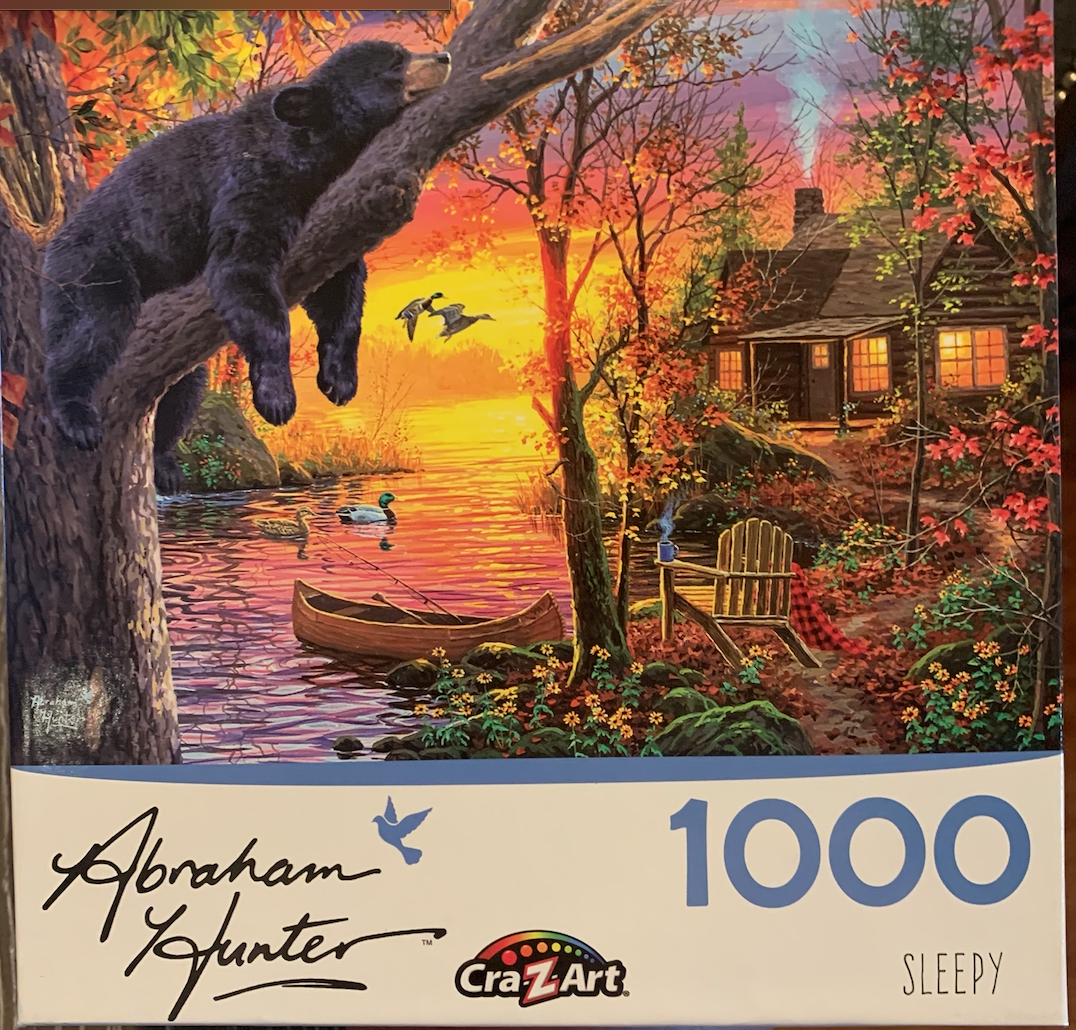 """Sleepy"" Cra-Z-Art 1,000 Piece Puzzle"