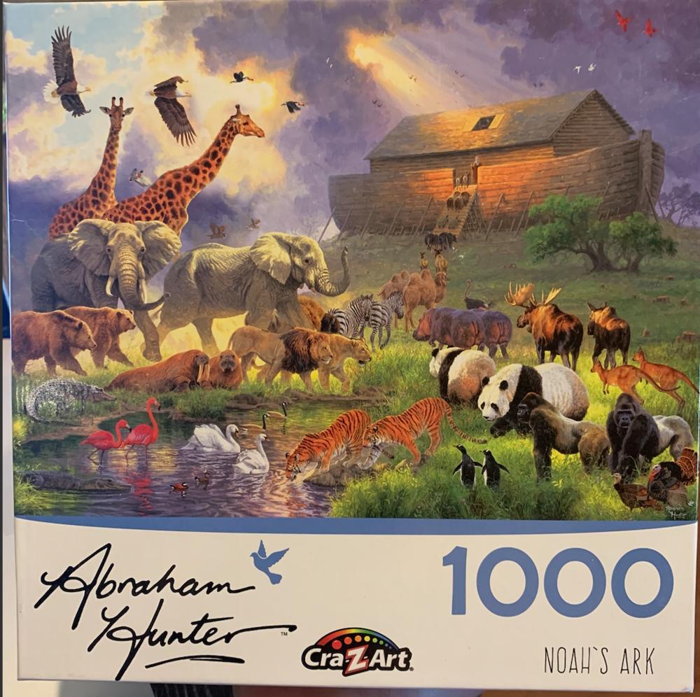 """Noah's Ark"" Cra-Z-Art 1,000 Piece Puzzle"