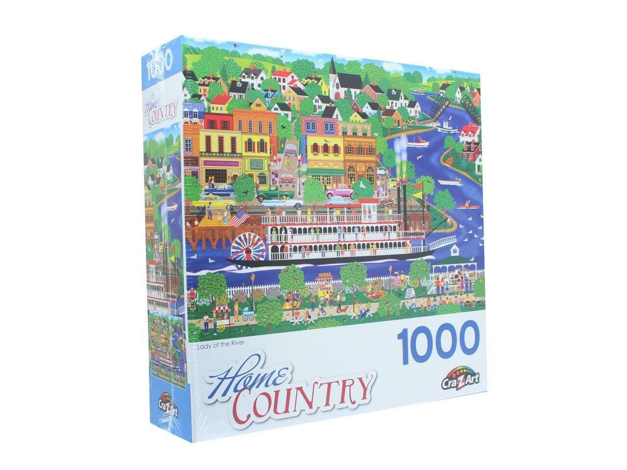 Lady of the River 1000 Piece Jigsaw Puzzle
