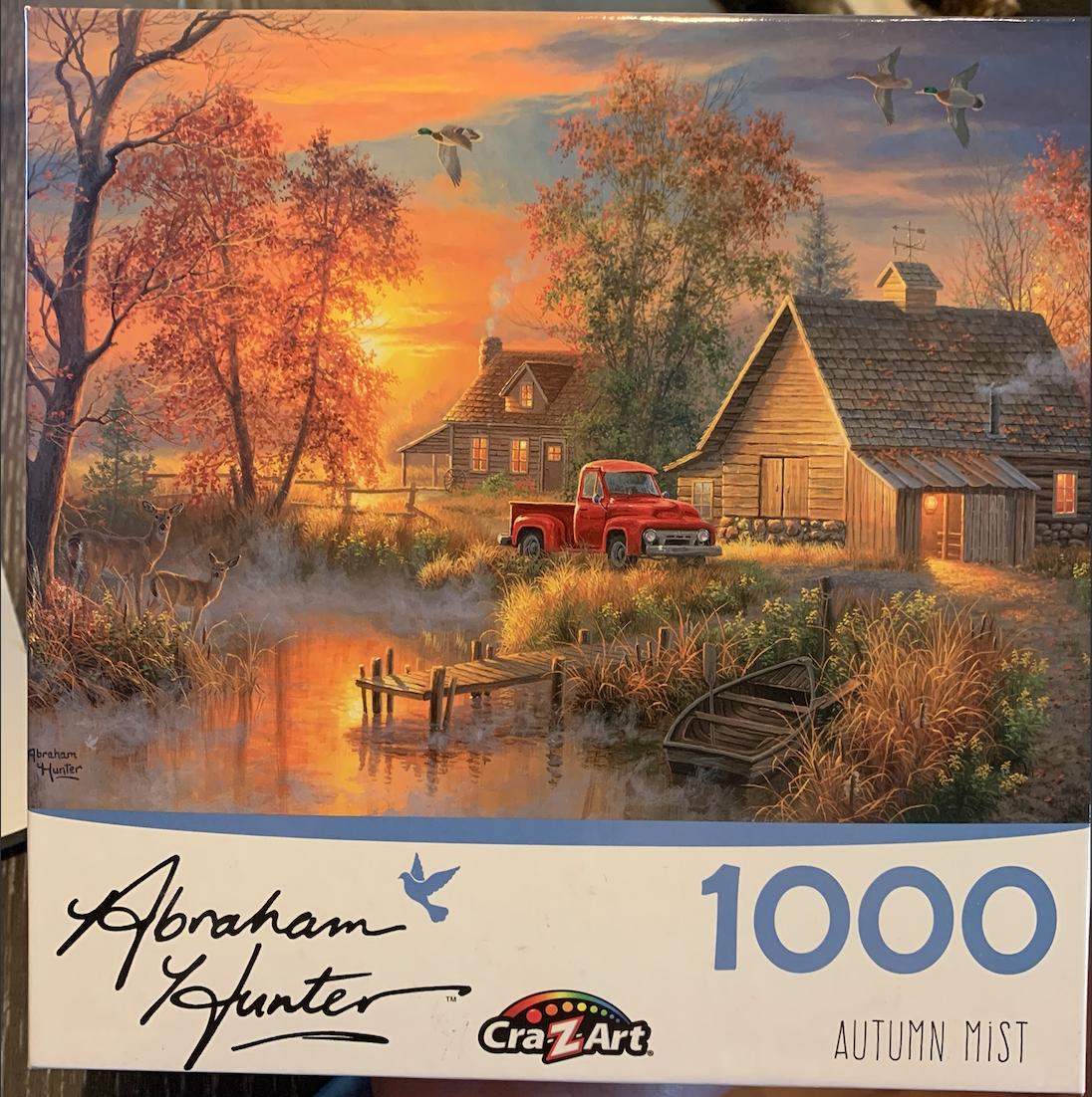 """Autumn Mist"" Cra-Z-Art 1,000 Piece Puzzle"