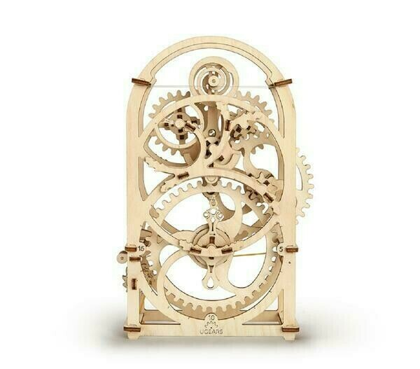 Timer (20 Min.) 3D Wood Mecbanical 107 Pc
