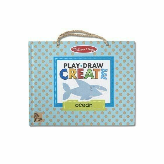 Ocean Play, Draw, Create