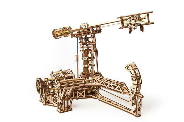 Aviator 3D Wood Mechanical 726 Pc