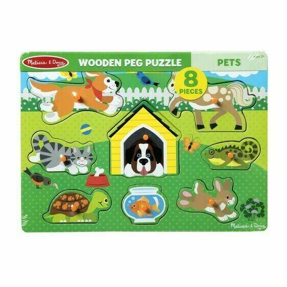 Pets Wood Peg