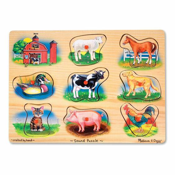 Farm Animals Sound 8 Pc