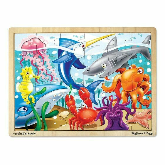 Under The Sea 24 Pc Wooden