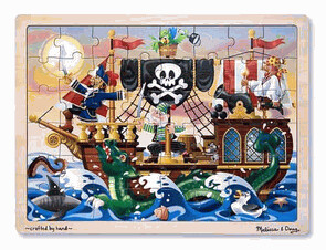 Pirate Adventure 48 Pc Tray