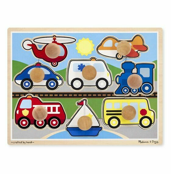 Vehicles Jumbo Pegs