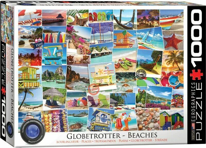 Globetrotter - Beaches 1000 Pc