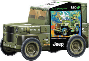 Military Jeep 550 Pc In Tin