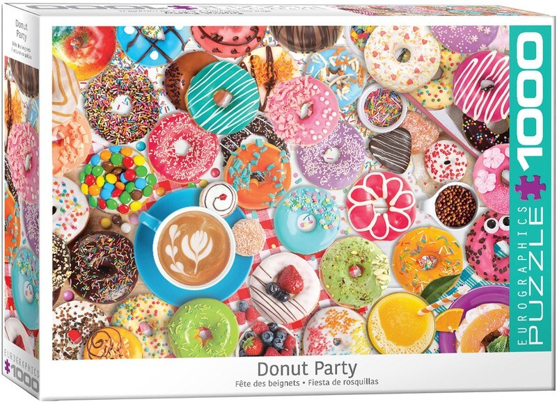 Donut Party 1000 Pc