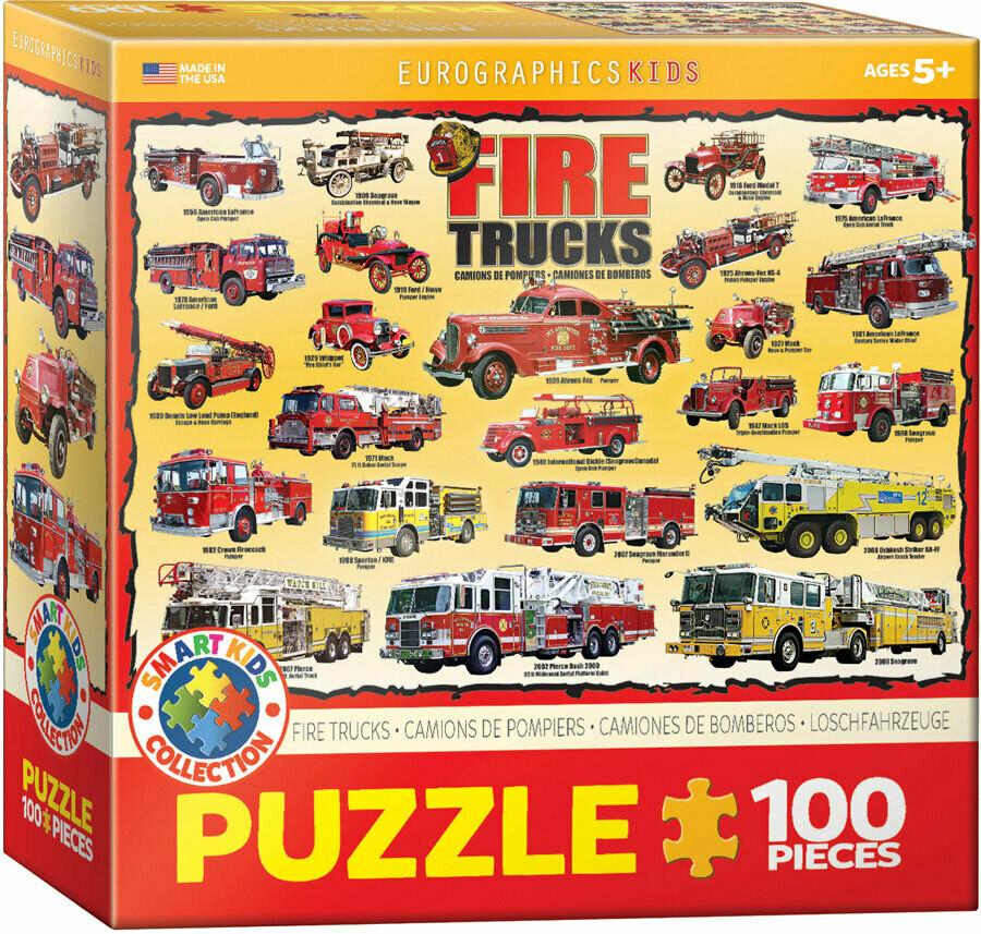 Fire trucks 100 Pc