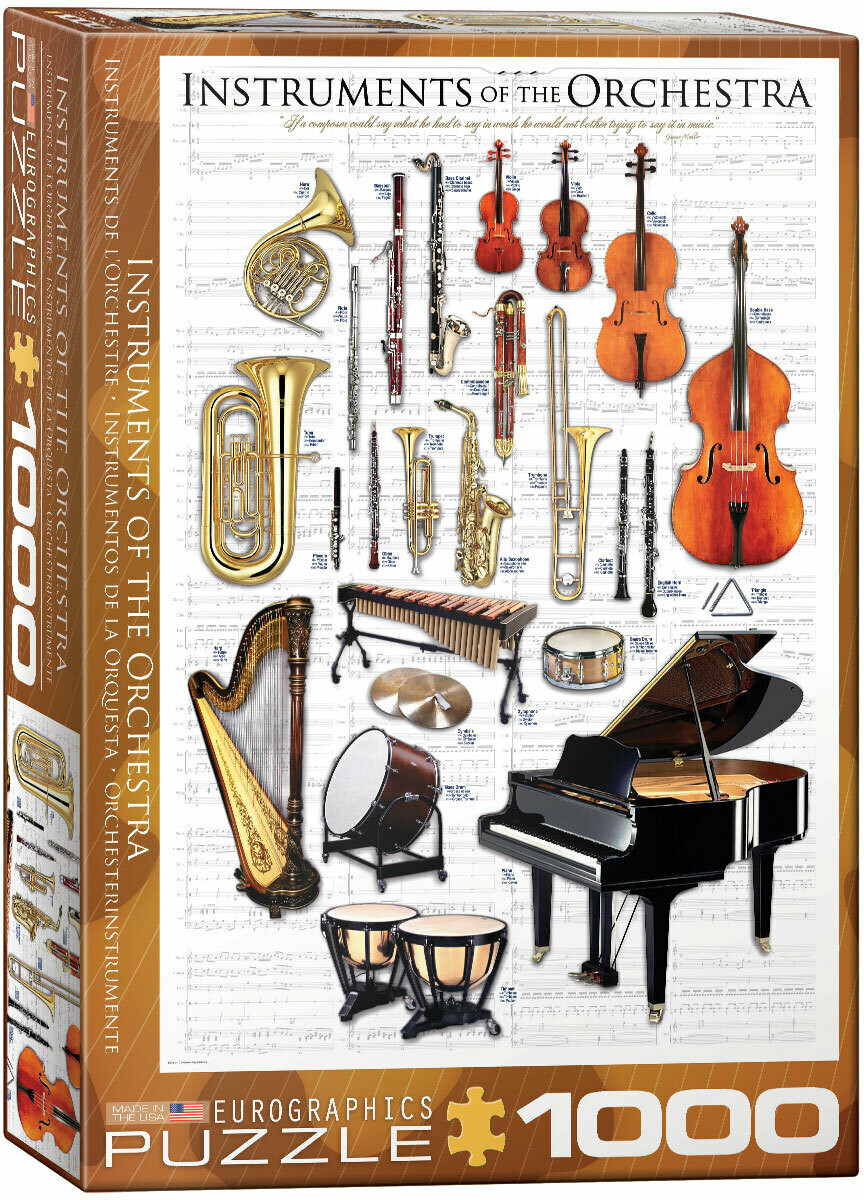 Instruments Of The Orchestra 1000 Pc