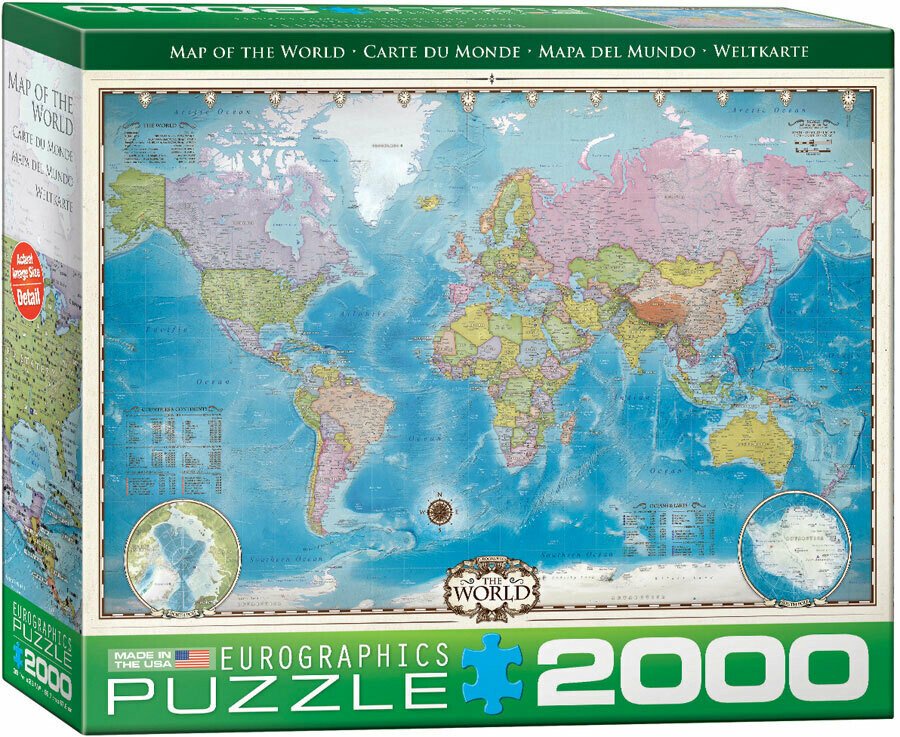Map Of The World 2000 Pc