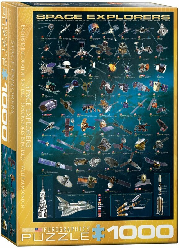 Space Explorers 1000 Pc