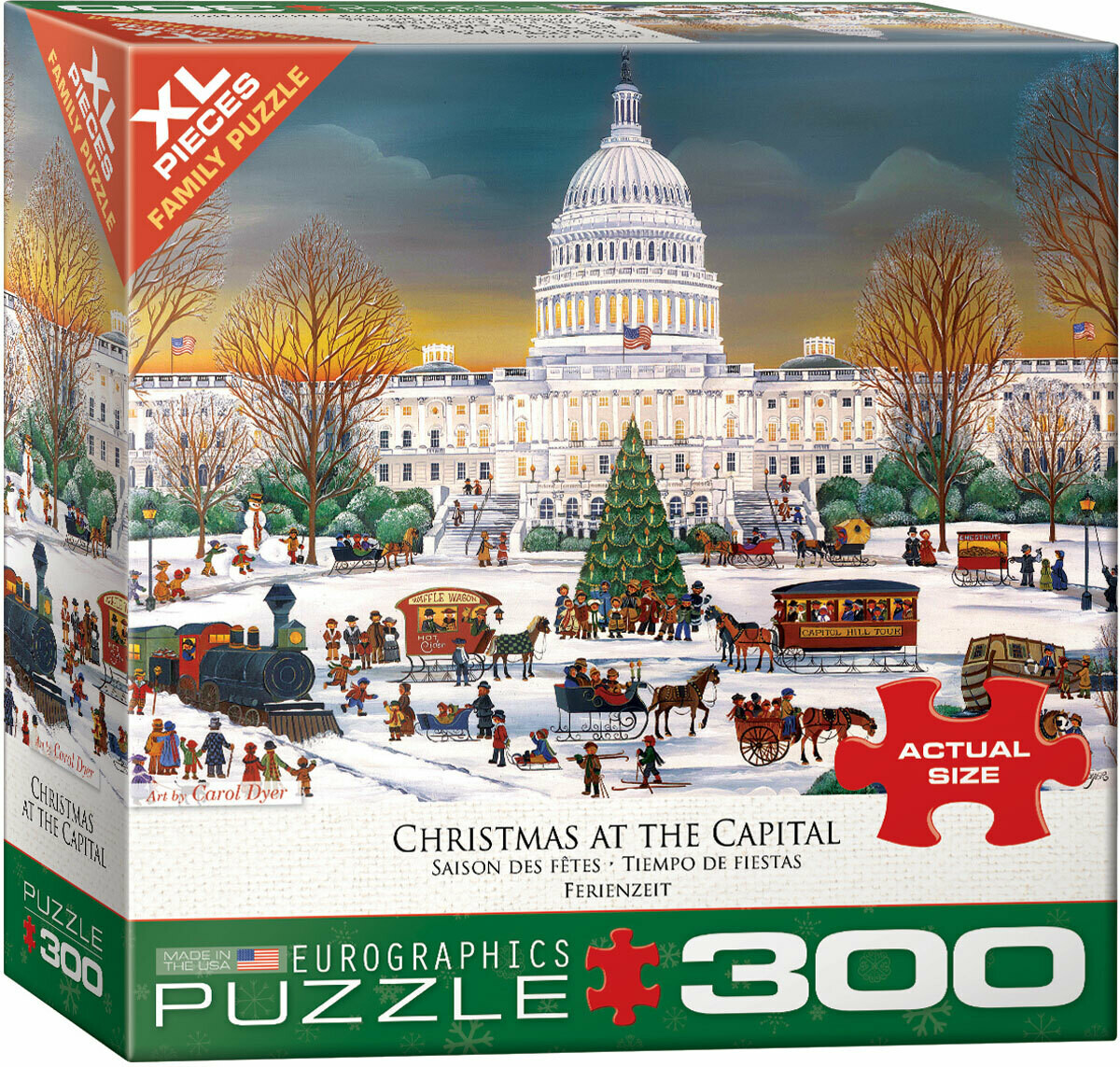 Christmas At The Capitol 300 Pc