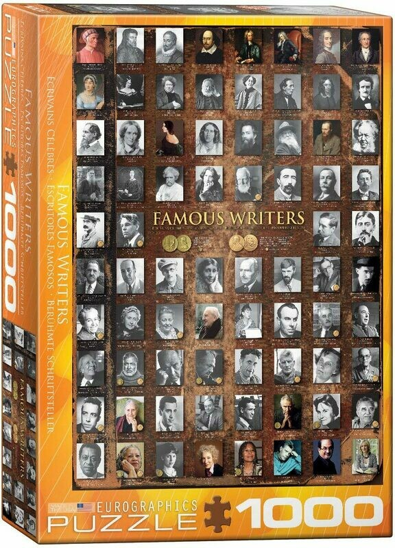 Famous Writers 1000 Pc