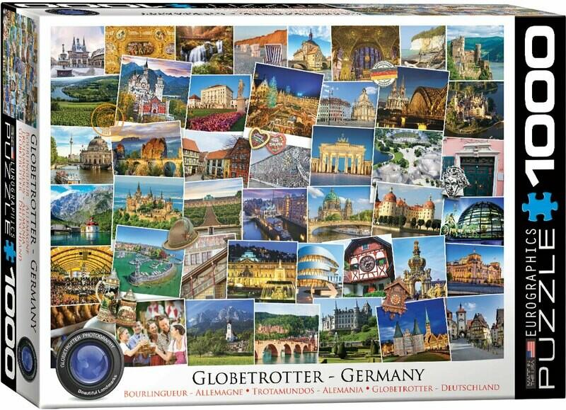 Globetrotter - Germany 1000 Pc